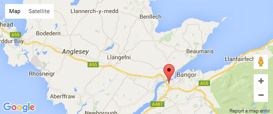 Google Map - Selectrical Bangor Ltd